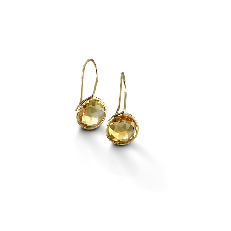 B Couture Citrine Drop Earrings