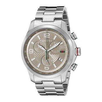 Gucci G-Timeless XL Brown Dial Chronograph