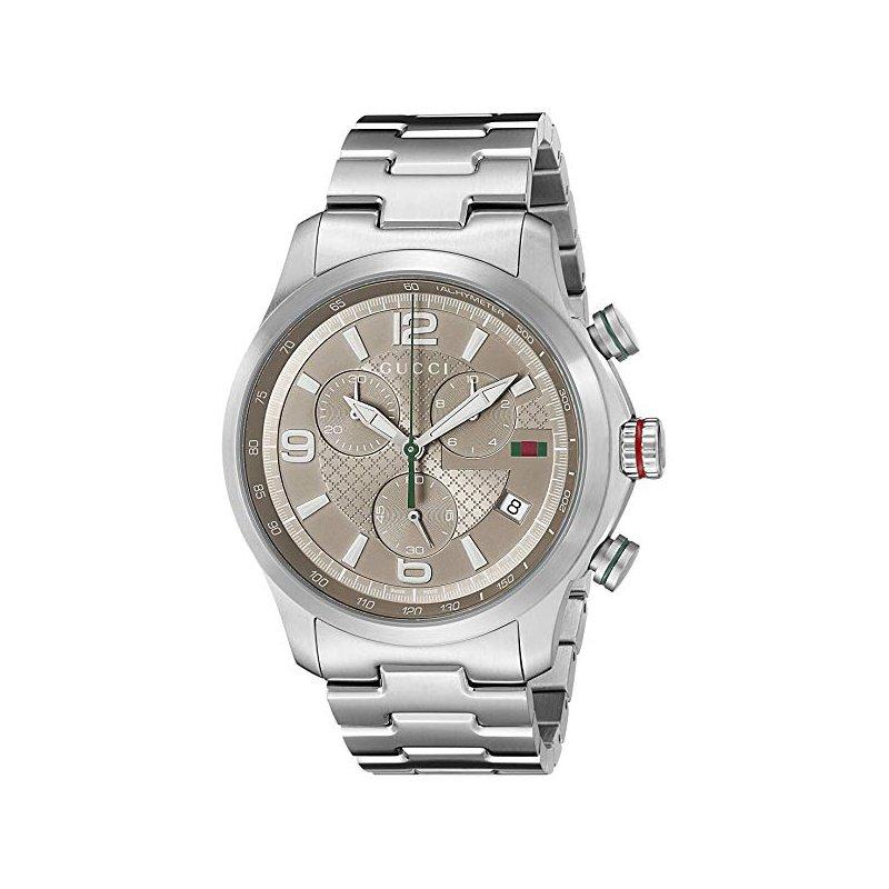 Davidson's Signature Gucci G-Timeless XL Brown Dial Chronograph