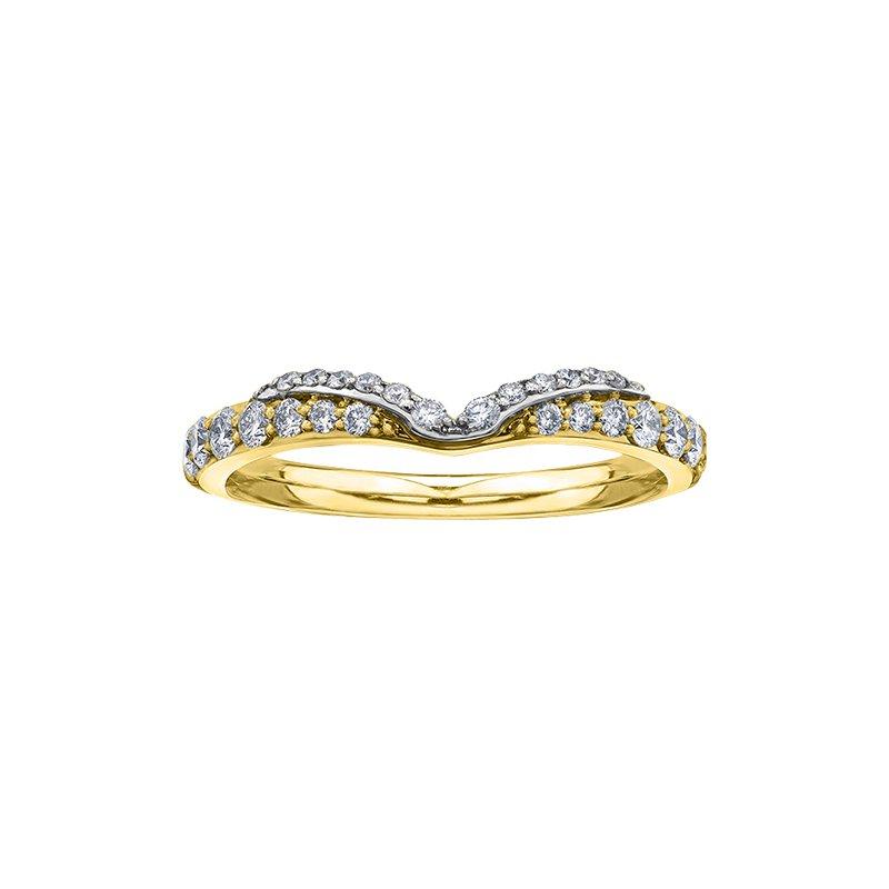 Maple Leaf Diamonds Eternal Flames Diamond Accent Engagement Ring