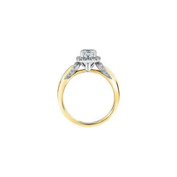 Eternal Flames Diamond Accent Engagement Ring