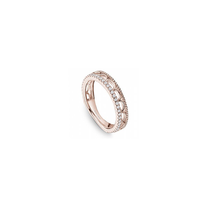 Noam Carver  Stacked Effect Diamond Band