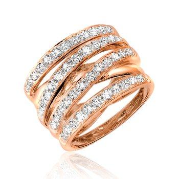 Large Diamond Cocktail Ring