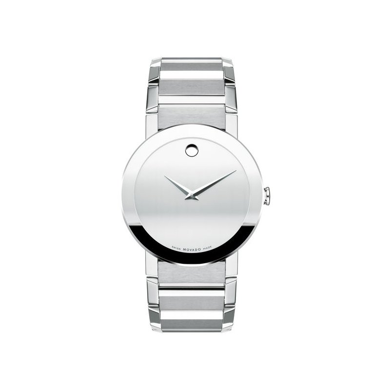 Davidson's Signature Movado Sapphire Stainless Steel Watch