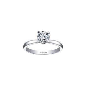 Circle of Love Solitaire Engagement Ring