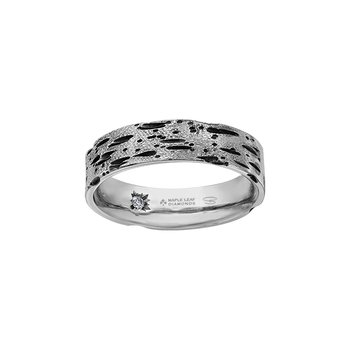 Birch Bark Wedding Band