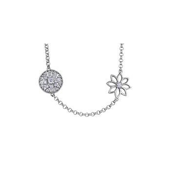 Spring Lily Diamond Bracelet