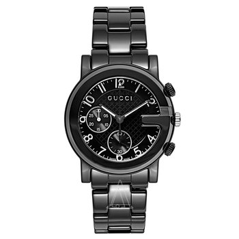 Gucci G-Chrono Black Ceramic Watch