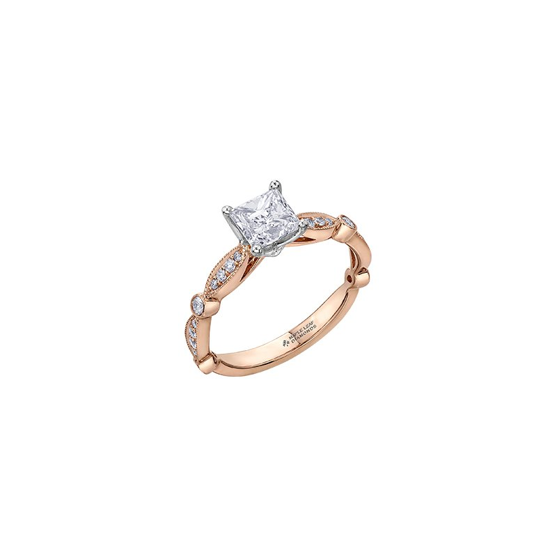 Maple Leaf Diamonds Eternal Flames Marquise Band Engagement Ring