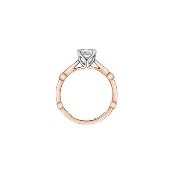 Eternal Flames Marquise Band Engagement Ring