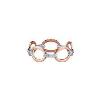Diamond Loop Bracelet