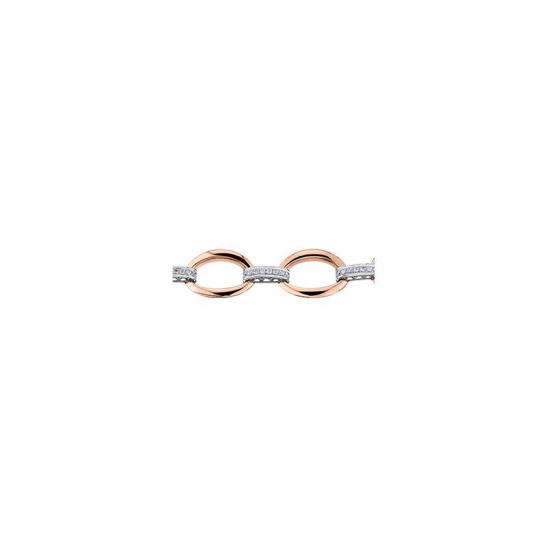Maple Leaf Diamonds Diamond Loop Bracelet