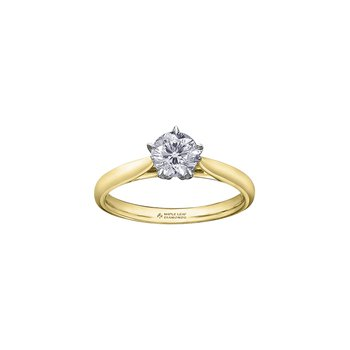150 Cut Collection Solitaire Ring in Yellow Gold