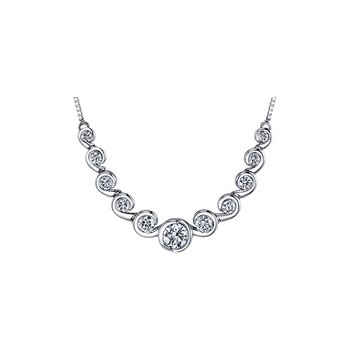 Tides of Love Diamond Necklace