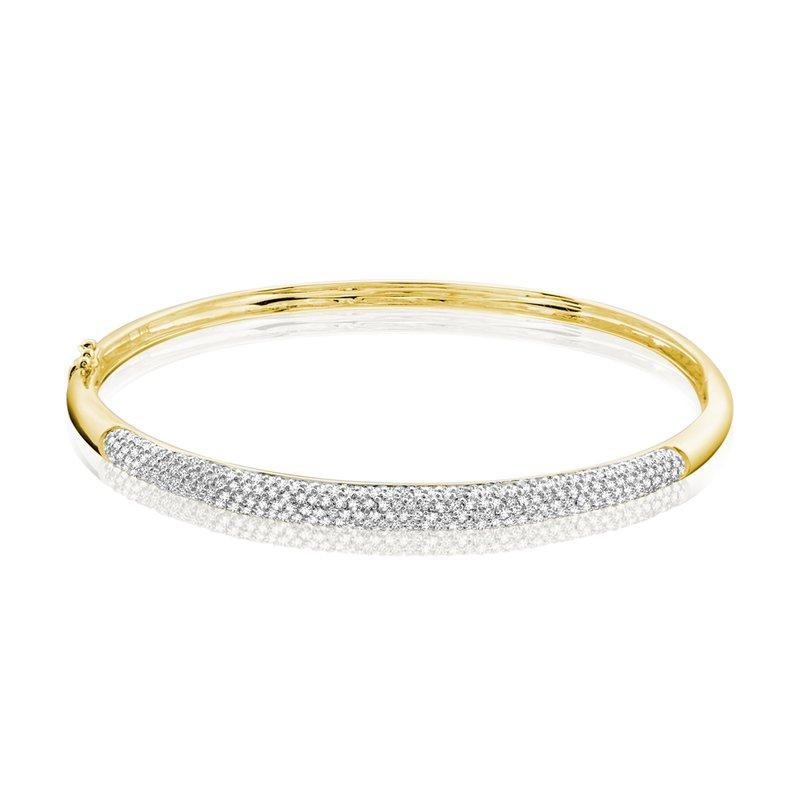 RnB Jewellery Pave Diamond Bangle