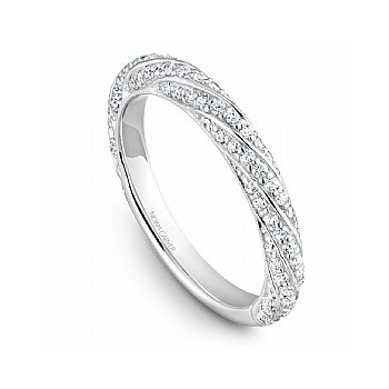 Pave Diamond Twist Band