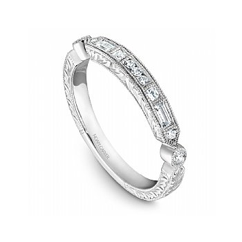 Mixed Cut Diamond Band