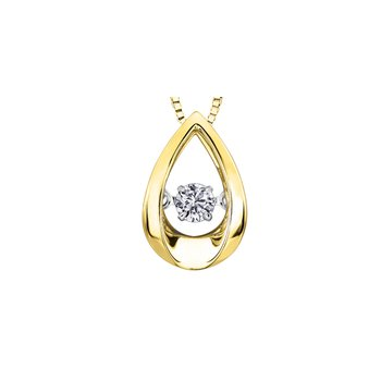 Northern Dancer Solitaire Pendant