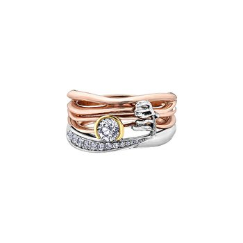 Summer Canadian Sunset Ring
