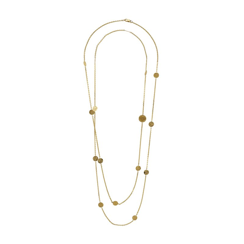 B Couture Long Station Necklace
