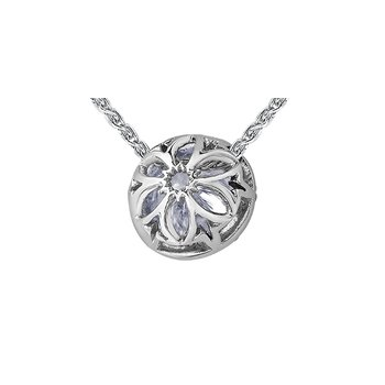 150 Cut Collection Diamond Halo Pendant