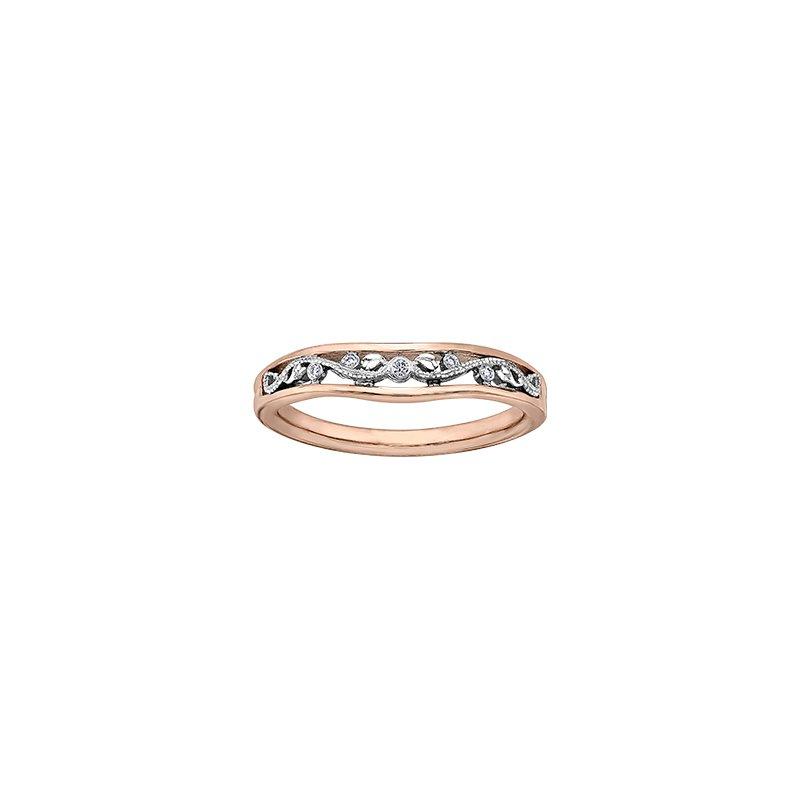 Maple Leaf Diamonds Summer Enchanted Filigree Ring