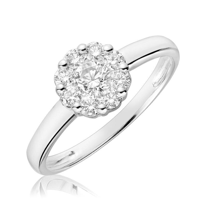 RnB Jewellery Diamond Cluster Ring