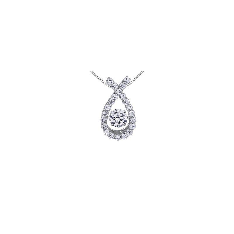 Maple Leaf Diamonds Northern Dancer Diamond Pendant