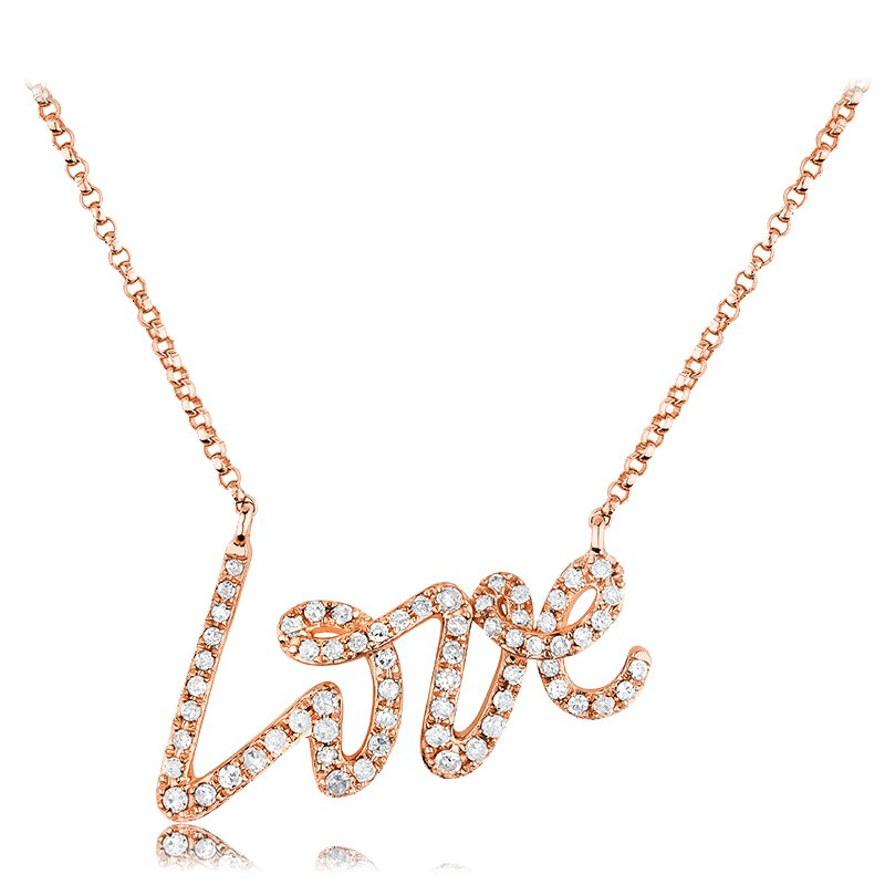 RnB Jewellery Love Necklace