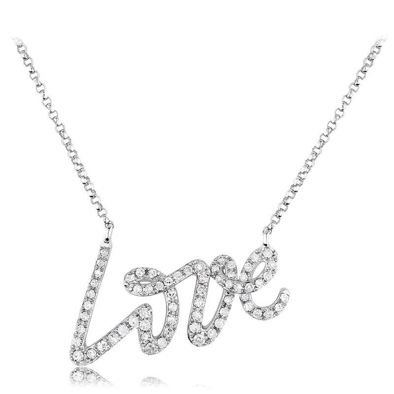 RnB Jewellery Love Necklace