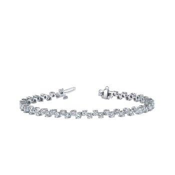 Zig Zag Diamond Bracelet