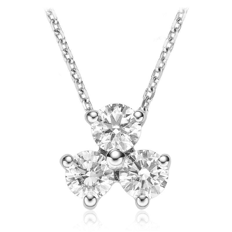 RnB Jewellery Diamond Trio Pendant