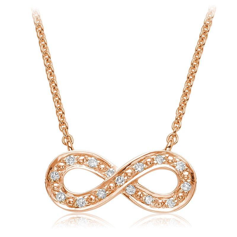 RnB Jewellery Diamond Infinity Necklace