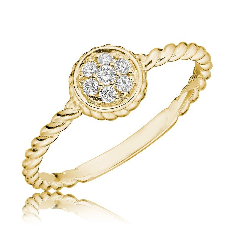 RnB Jewellery Diamond Treasures Round Ring