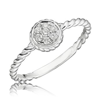 Diamond Treasures Round Ring