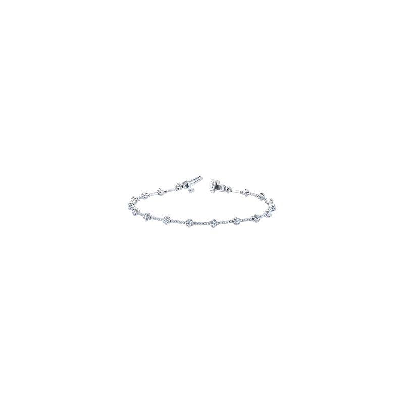 Maple Leaf Diamonds Wind's Embrace Diamond Bracelet