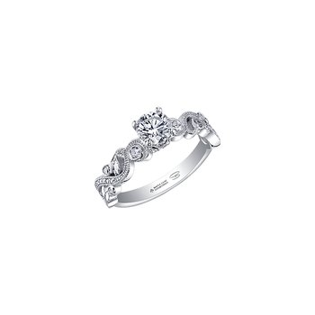 Enchanted Solitaire Engagement Ring