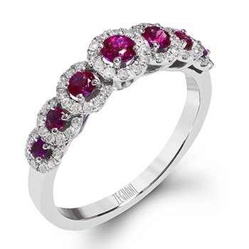 Delicate Diva Lafayette Ruby Ring