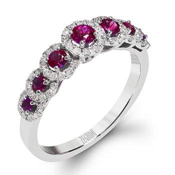 Delicate Diva Lafayette Ruby Ring