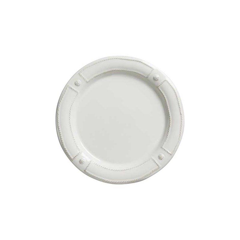 Juliska Berry & Thread French Panel Whitewash Dinner Plate
