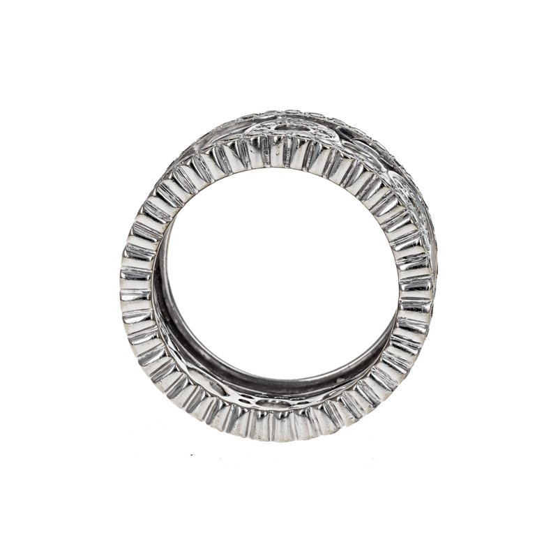 Estate Chad Allison Diamond Circle Ring