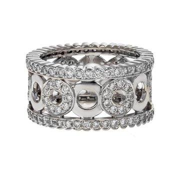 Diamond Circle Ring