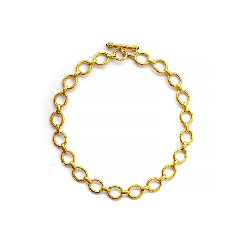 """Elizabeth Locke Smooth Link Necklace-17"""""""