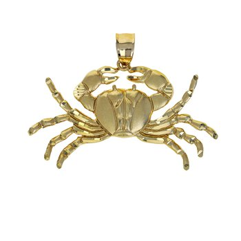 Crab Pendant Charm
