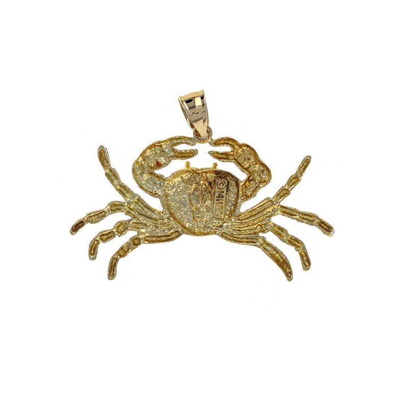 Estate Radcliffe Crab Pendant Charm