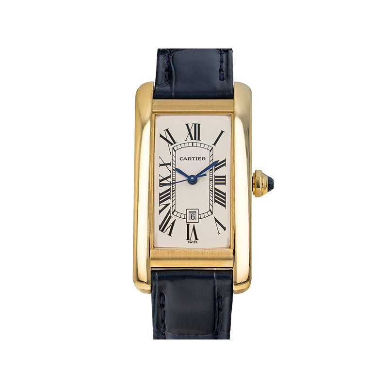 Pre-Owned Cartier Tank Americaine (Ref. 2483)
