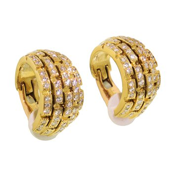Panther Diamond Earrings