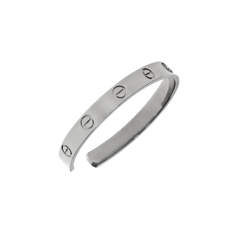 Estate Cartier Diamond Love Cuff