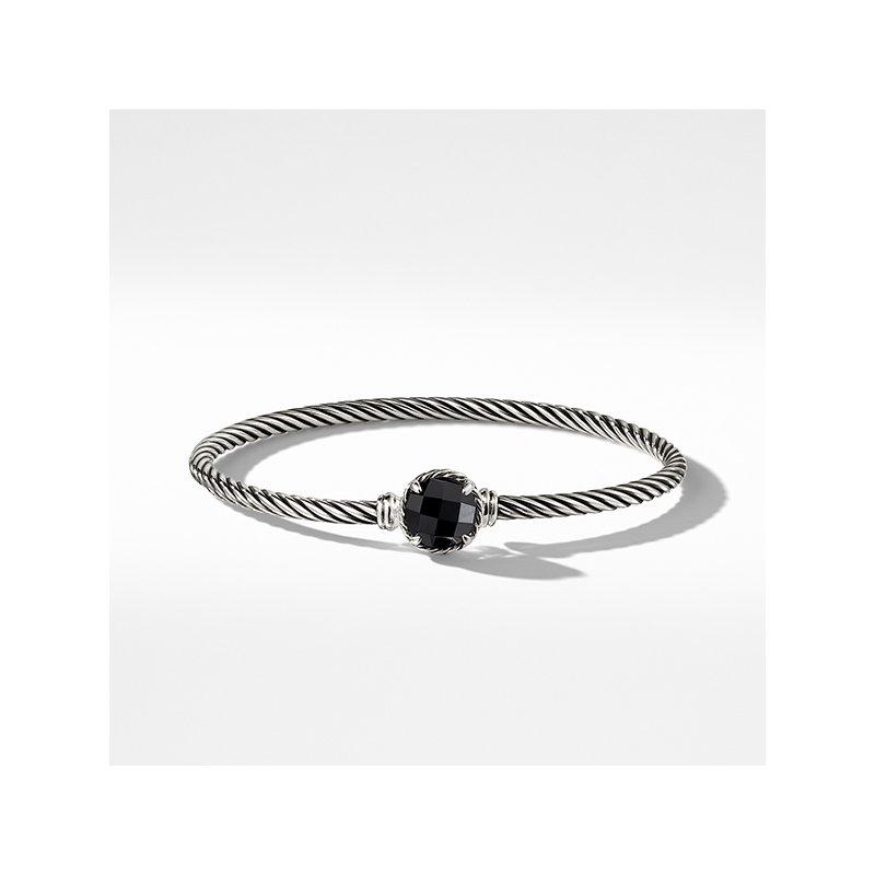 David Yurman Chatelaine Bracelet with Black Onyx