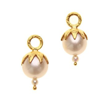 Pearl Earring Charms